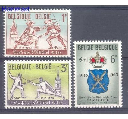 Znaczek Belgia 1963 Mi 1306-1308 Czyste **