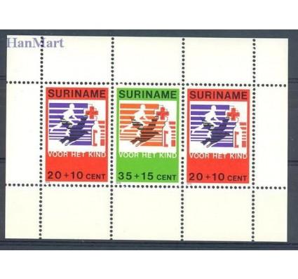 Znaczek Surinam 1979 Mi bl 23 Czyste **