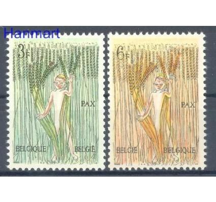 Belgia 1963 Mi 1311-1312 Czyste **