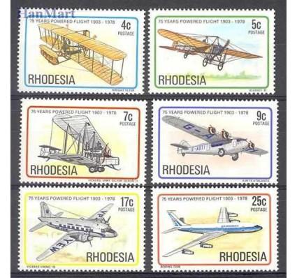Znaczek Rodezja 1978 Mi 221-226 Czyste **
