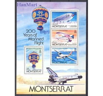Znaczek Montserrat 1983 Mi bl 26 Czyste **