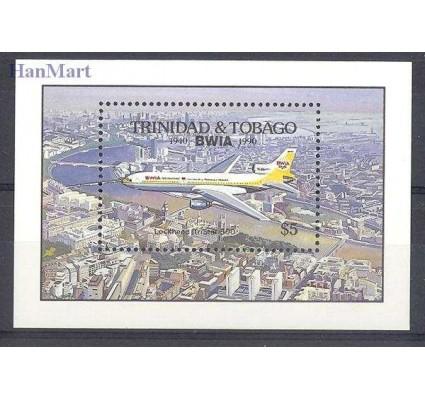 Znaczek Trynidad i Tobago 1990 Mi bl 41 Czyste **