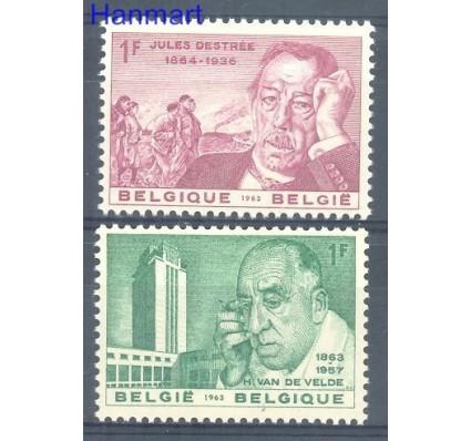 Belgia 1963 Mi 1329-1330 Czyste **