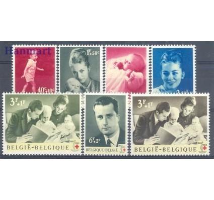 Belgia 1963 Mi 1322-1328 Czyste **