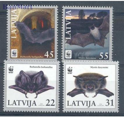 Znaczek Łotwa 2008 Mi 727-730 Czyste **