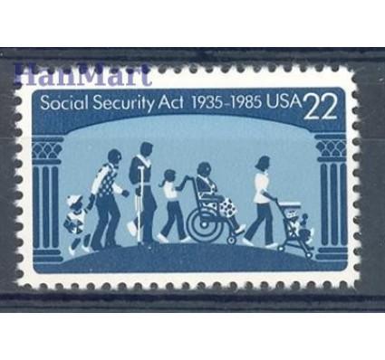 Znaczek USA 1985 Mi 1763 Czyste **