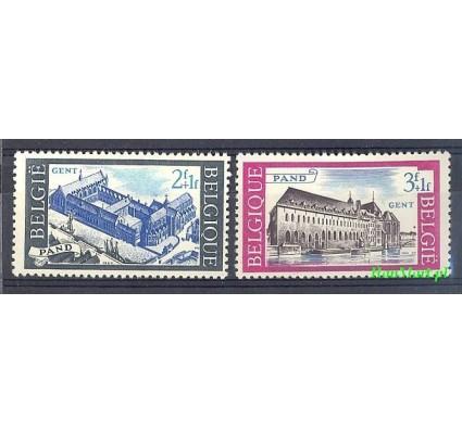 Belgia 1964 Mi 1364-1365 Czyste **
