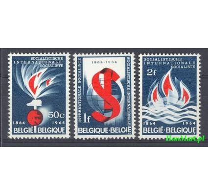 Belgia 1964 Mi 1350-1352 Czyste **
