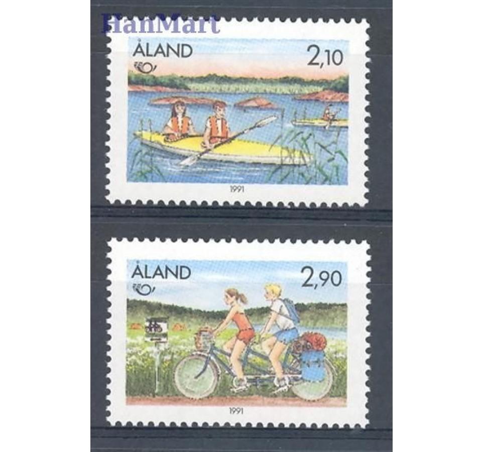 Wyspy Alandzkie 1991 Mi 51-52 Czyste **