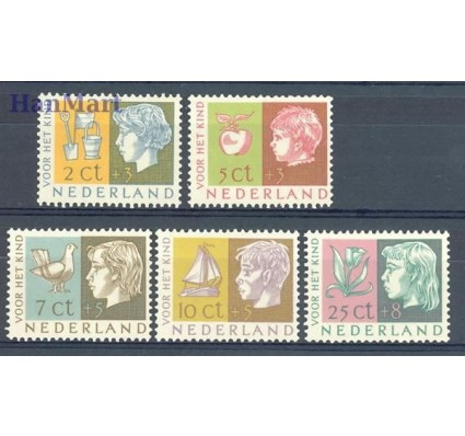 Znaczek Holandia 1953 Mi 631-635 Czyste **