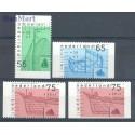 Holandia 1989 Mi 1361C+1362D+1363D+E Czyste **