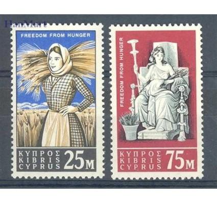 Znaczek Cypr  1963 Mi 218-219 Czyste **