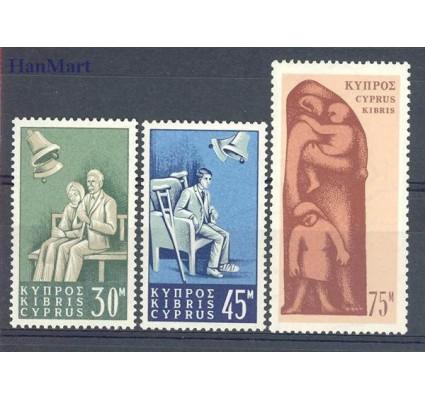 Cypr  1965 Mi 250-252 Czyste **