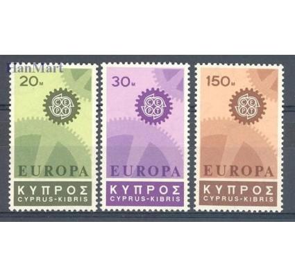 Znaczek Cypr  1967 Mi 292-294 Czyste **