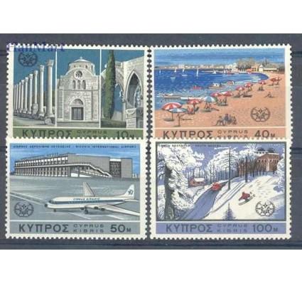 Znaczek Cypr  1967 Mi 298-301 Czyste **