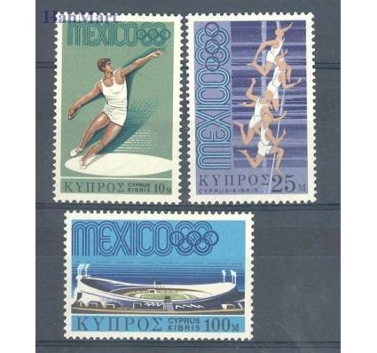 Znaczek Cypr  1968 Mi 312-314 Czyste **