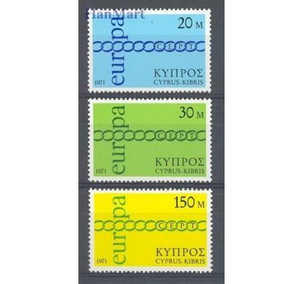 Cypr  1971 Mi 359-361 Czyste **