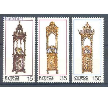 Znaczek Cypr  1978 Mi 496-498 Czyste **