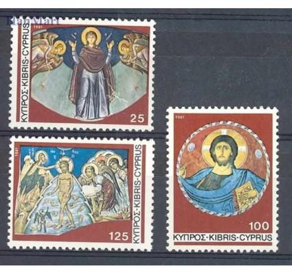 Znaczek Cypr  1981 Mi 561-563 Czyste **