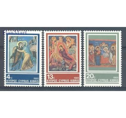 Znaczek Cypr  1985 Mi 648-650 Czyste **