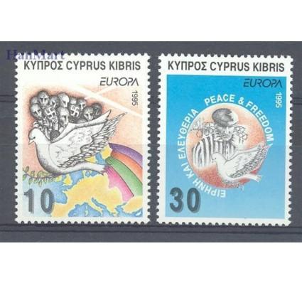 Znaczek Cypr  1995 Mi 854-855 Czyste **