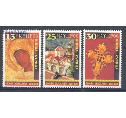 Znaczek Cypr  2001 Mi 982-984 Czyste **