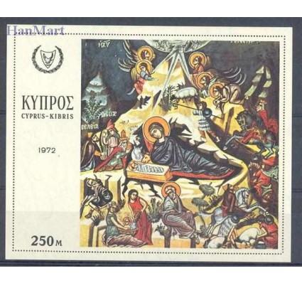 Cypr  1972 Mi bl 8 Czyste **