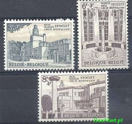 Belgia 1965 Mi 1394-1396 Czyste **