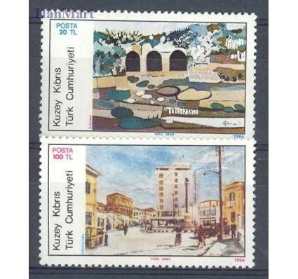 Znaczek Cypr Północny 1986 Mi 181-182 Czyste **