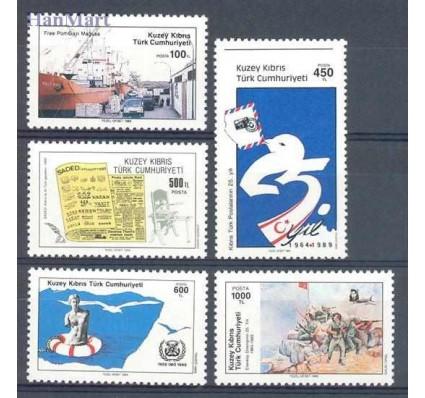 Znaczek Cypr Północny 1989 Mi 262-266 Czyste **