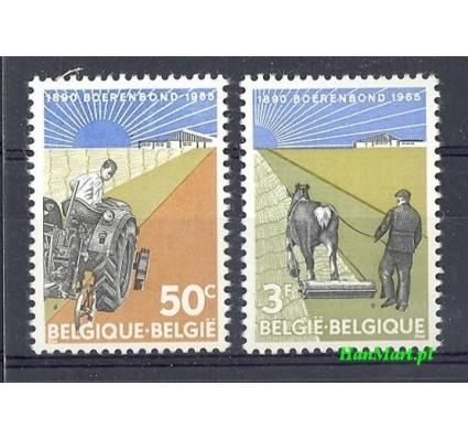 Znaczek Belgia 1965 Mi 1397-1398 Czyste **