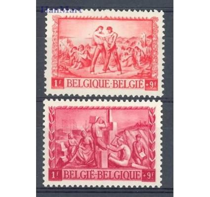 Znaczek Belgia 1945 Mi 710-711 Czyste **