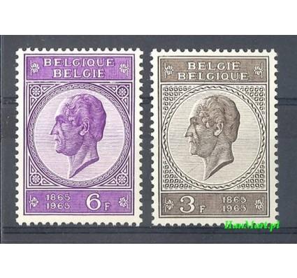 Belgia 1965 Mi 1406-1407 Czyste **