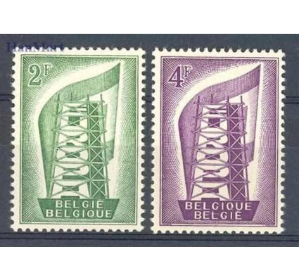 Znaczek Belgia 1956 Mi 1043-1044 Czyste **