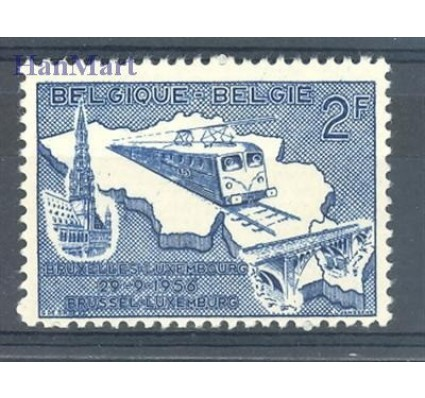 Znaczek Belgia 1956 Mi 1045 Czyste **