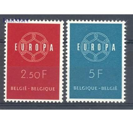 Znaczek Belgia 1959 Mi 1164-1165 Czyste **