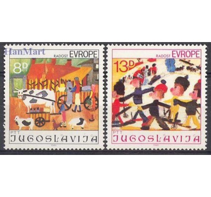 Znaczek Jugosławia 1981 Mi 1901-1902 Czyste **