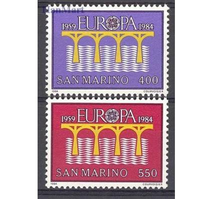 Znaczek San Marino 1984 Mi 1294-1295 Czyste **