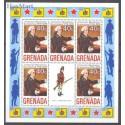 Grenada 1975 Mi 657-666 Czyste **