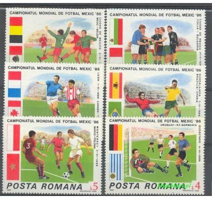 Znaczek Rumunia 1986 Mi 4260-4265 Czyste **