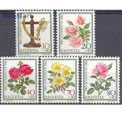 Znaczek Szwajcaria 1982 Mi 1236-1240 Czyste **