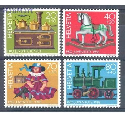 Znaczek Szwajcaria 1983 Mi 1260-1263 Czyste **