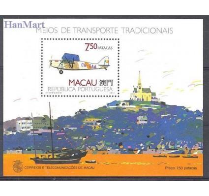 Znaczek Makau 1989 Mi bl 11 Czyste **