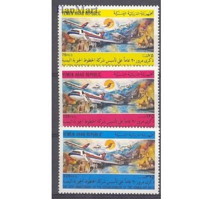 Znaczek Jemen Północny 1983 Mi 1774-1776 Czyste **