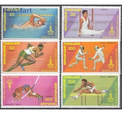 Znaczek Togo 1980 Mi 1422-1427 Czyste **