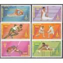 Togo 1980 Mi 1422-1427 Czyste **
