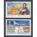 Rumunia 1977 Mi 3439-3440 Czyste **