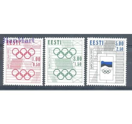 Znaczek Estonia 1992 Mi 180-182 Czyste **