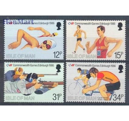 Znaczek Wyspa Man 1986 Mi 298-301 Czyste **