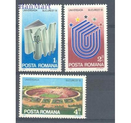 Znaczek Rumunia 1981 Mi 3807-3809 Czyste **
